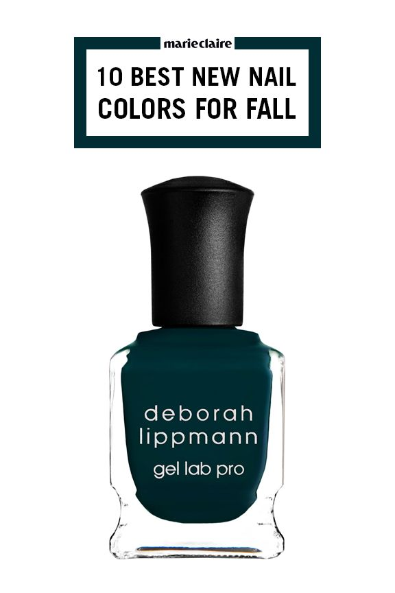 12 Best Fall Nail Colors of 2017 - New Autumn Nail Polish Colors