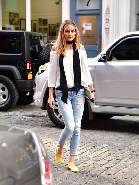 <p>Why a scarf, though, Olivia Palermo? </p>