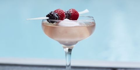 <p><strong>Ingredients:</strong></p><p>1 scoop sorbet</p><p>Sparkling rosé</p><p>Fresh berries (raspberries, strawberries, blueberries)</p><p><strong>Directions:</strong></p><p>Scoop sorbet into coupe glass. Top with sparkling rosé and garnish with fresh berries.</p><p><i>Courtesy Gansevoort Park Avenue, New York</i></p>