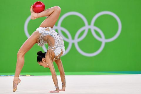 <p>South Korean gymnast Son Yeon Jae.</p>