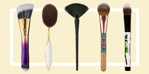 Brown, Brush, Lavender, Makeup brushes, Personal care, Silver,