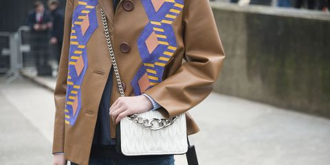 Clothing, Street fashion, Jeans, Blazer, Fashion, Outerwear, Blue, Jacket, Denim, Snapshot,