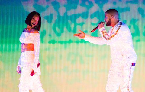 MC Drake Rihanna