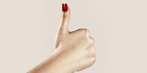 Finger, Skin, Thumb, Nail, Nail polish, Nail care, Coquelicot, Manicure, Gesture, Gloss,