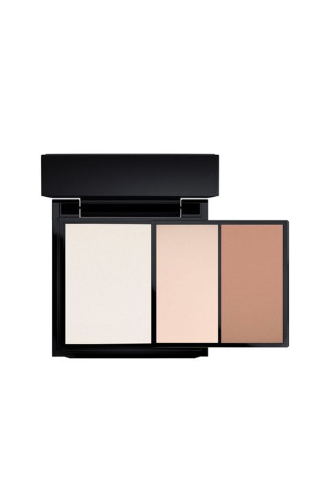 """<p>Shortly after launching its very first contour palette this year M.A.C. gifted us another—this tri-color kit equipped with a creamy color base plus sculpting and shaping powders. The colors are super easy to work with for beginners, which could justify the extra splurge. </p><p><strong>All the Right Angles Contour Palette, $40; <a href=""""https://www.maccosmetics.com/product/13845/40772/Products/Makeup/Face/Face-Kits/All-The-Right-Angles-Contour-Palette"""" target=""""_blank"""">maccosmetics.com</a>. </strong></p>"""