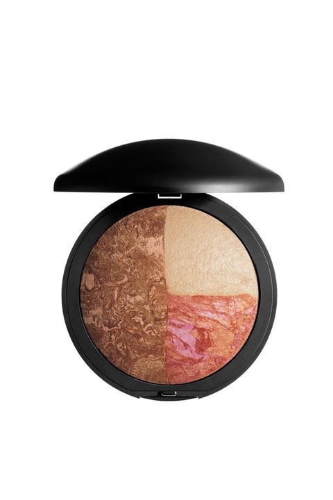 """<p>Laura Geller's baked together color trio may be the prettiest contour kit we've seen this year, and the colors are ultra-flattering, from a pigmented raspberry blush to a shimmery bronze shade. </p><p><strong>Laura Geller Baked Color and Contour Palette, $45; <a href=""""http://www.ulta.com/baked-color-contour-palette?productId=xlsImpprod13971081"""" target=""""_blank"""">ulta.com</a>. </strong></p>"""