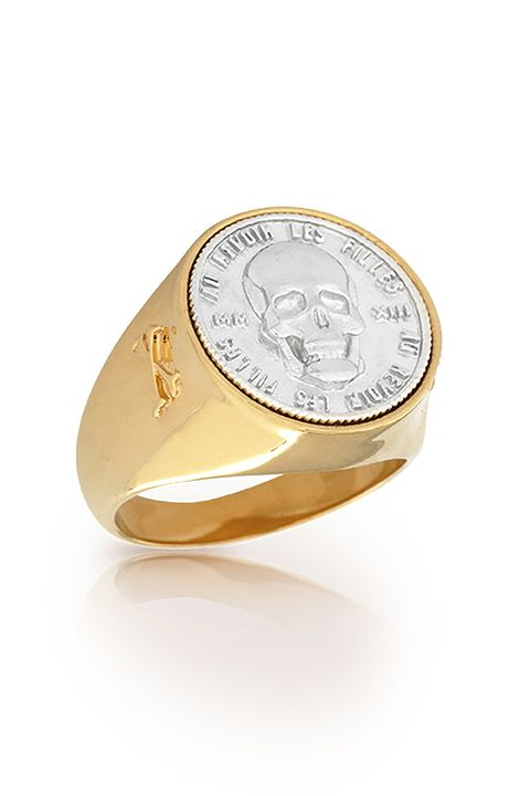 "<p>Nothing like a memento mori to remind you to work better (harder, faster, stronger) because life is short, and the afterlife is forever, maybe.&nbsp;&nbsp;</p><p>$213, <a href=""http://www.aurevoirlesfilles.com/shop/eternal-signet-ring-ii"" target=""_blank"">aurevoirlesfilles.com</a>.</p>"