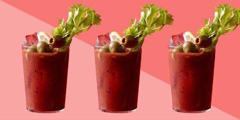Liquid, Juice, Drink, Ingredient, Cocktail, Produce, Vegetable juice, Non-alcoholic beverage, Cylinder, Garnish,