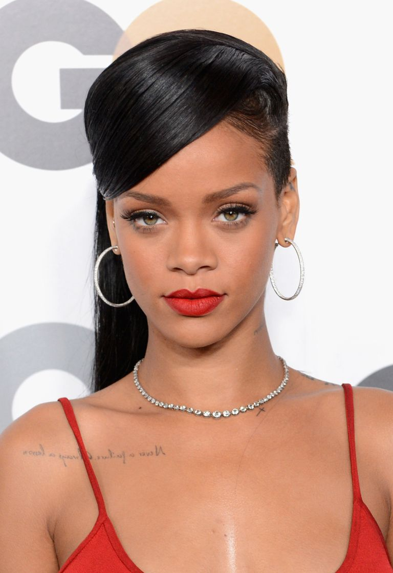 rihanna hair style 35 hairstyles with bangs best hair 8903