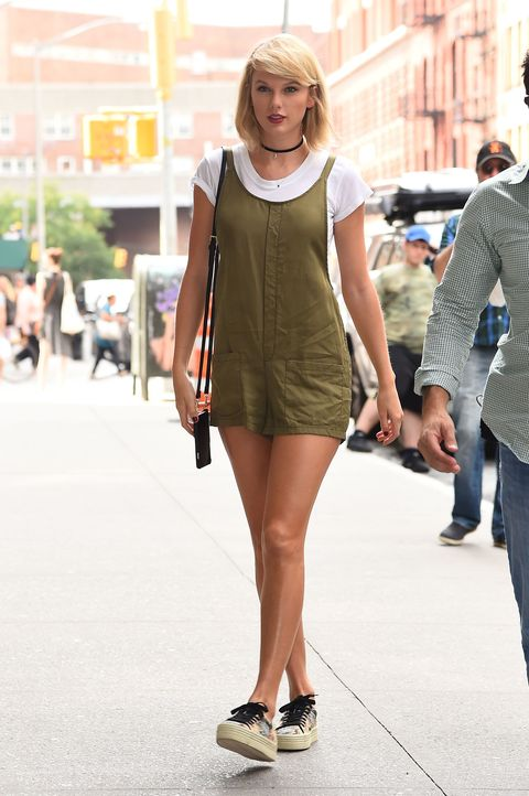 Singer Taylor Swift is seen on August 31, 2016 in New York City.