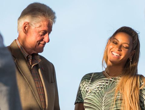 Beyoncé Spent Her Birthday Weekend with the Obamas and Former President Bill Clinton
