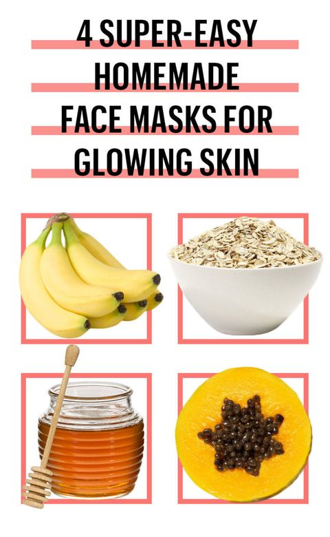 6 easy diy face mask recipes best homemade face masks for glowing skin betsey farrell solutioingenieria Images