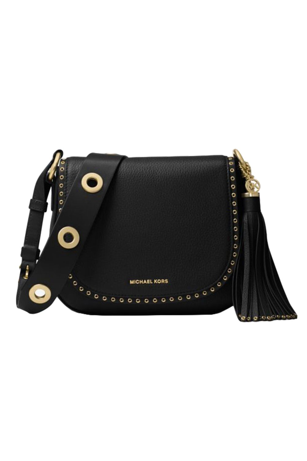 "<p>An all-American leather saddle bag is a piece worth investing in. This rugged-in-a-city-slicker-way cross-body purse may have its roots in the wild west, but it'll look so chic in any downtown cafe. Wear it with anything—from jeans to dresses—this is a bag for life. <em data-redactor-tag=""em"" data-verified=""redactor"">$388, </em><a href=""http://www.michaelkors.com/brooklyn-medium-leather-saddlebag/_/R-US_30F6ABNM8L?No=1&color=0001&isTrends=true"" target=""_blank""><em data-redactor-tag=""em"" data-verified=""redactor"">michaelkors.com</em></a></p>"