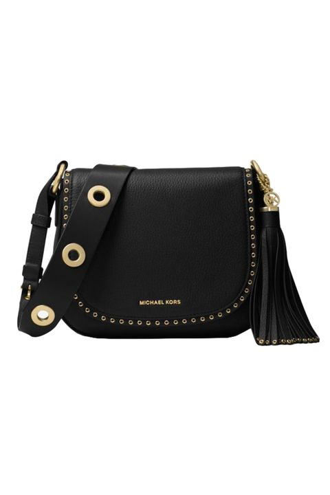"<p>An all-American leather saddle bag&nbsp;is a piece worth investing in.&nbsp;This rugged-in-a-city-slicker-way cross-body purse may have its roots in the wild west, but it'll look so chic in any downtown cafe. Wear it with anything—from jeans to dresses—this is a bag for life.&nbsp;<em data-redactor-tag=""em"" data-verified=""redactor"">$388, </em><a href=""http://www.michaelkors.com/brooklyn-medium-leather-saddlebag/_/R-US_30F6ABNM8L?No=1&amp;color=0001&amp;isTrends=true"" target=""_blank""><em data-redactor-tag=""em"" data-verified=""redactor"">michaelkors.com</em></a></p>"