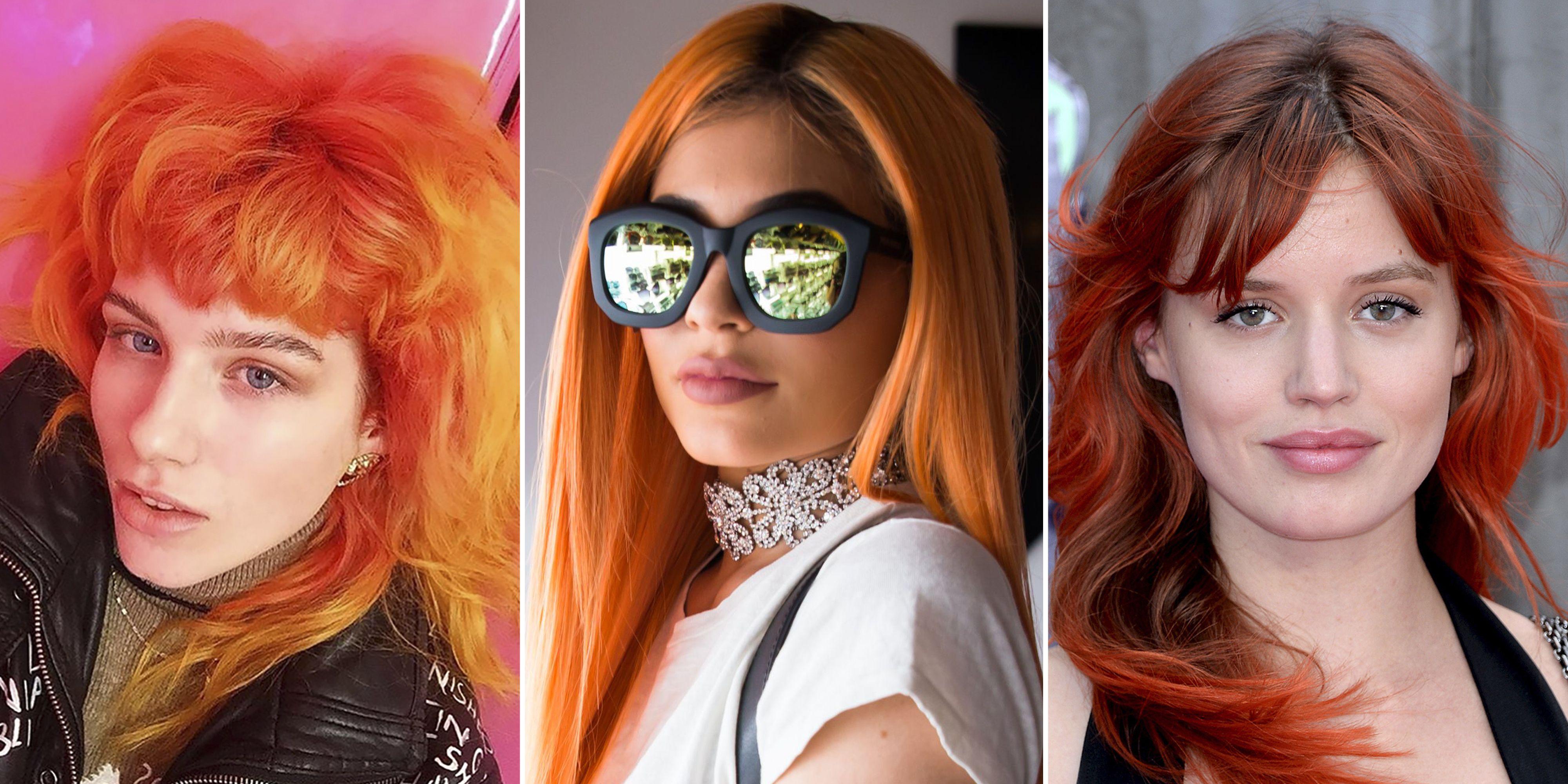 Best Orange Dye Jobs Orange Hair Trend
