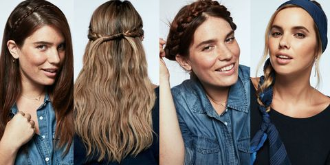 Hair, Head, Smile, Hairstyle, Eyebrow, Happy, Facial expression, Style, Eyelash, Fashion,