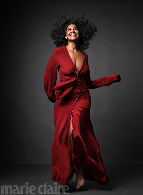 Tracee Ellis Ross Black-Ish Female Role Marie Claire