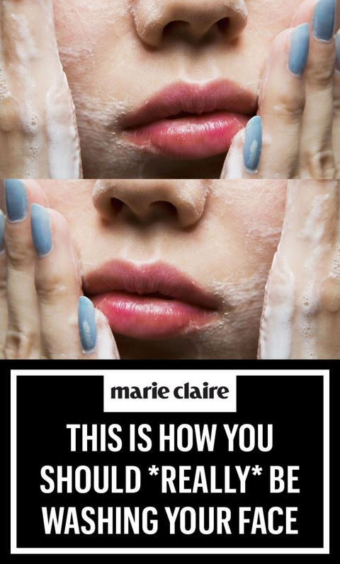How To Wash Your Face - Tips for Facial Cleansing