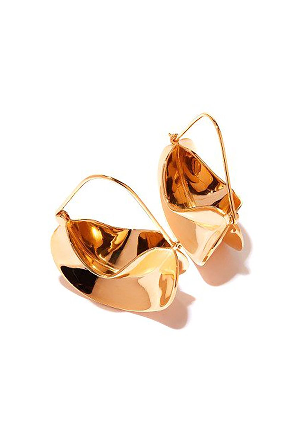 "<p>These are meant to be baskets (not fortune cookies), but what's to stop you from carrying secret gummy bears in them, no matter what they are? </p><p>$474, <a href=""http://anissakermiche.com/product/paniers-dores-earrings/"" target=""_blank"">anissakermiche.com</a>.</p>"