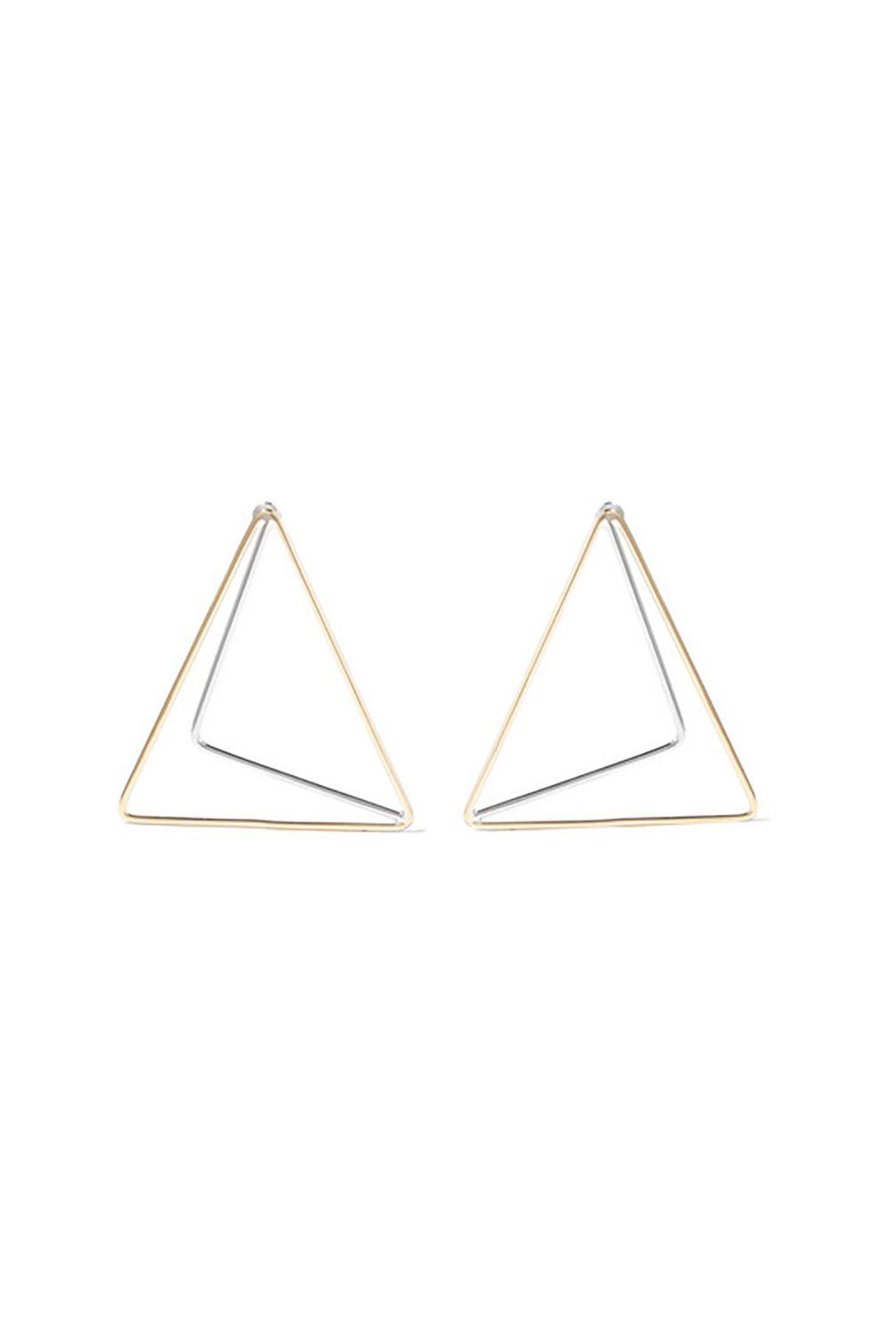 "<p>#fashionpaperclip</p><p>$70, <a href=""https://www.net-a-porter.com/us/en/product/746762/anndra_neen/gold-and-silver-plated-earrings"" target=""_blank"">net-a-porter.com</a>.</p>"