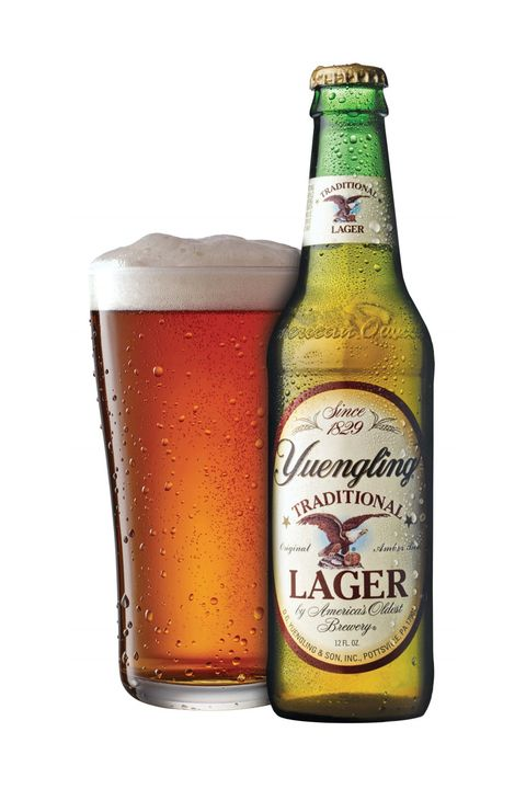 "<p>A bar and liquor store&nbsp;staple,&nbsp;Yuengling is an old faithful beer staple. And if you're counting calories, you can't go wrong with a classic, refreshing lager that's cheaper than most.&nbsp;</p><p><strong data-redactor-tag=""strong"">Yuengling Lager (4.5% ABV), 128 calories</strong></p>"