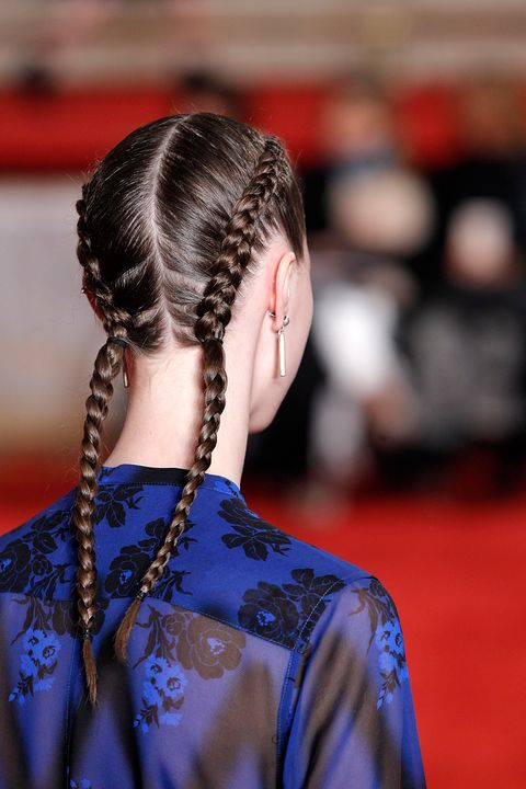 "<p>""Wet hair has about 50 percent&nbsp;more elasticity than dry hair,"" Lawless says. That's why you can get such a clean braid on damp hair. But all that tugging to get your boxer braids extra tight means&nbsp;you're stretching hair out past the length it would be when it's dry. It then sets in that stretched-out position&nbsp;and never bounces back. Ditto if you use tight, pinching elastics on wet hair or pull it into a super-taut ponytail. Think of it like a permanently&nbsp;stretched rubber&nbsp;band that snaps. Cringe.</p>"