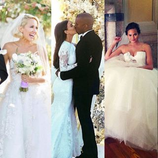 The 47 best celebrity wedding dresses wedding gown ideas from stars skip ad junglespirit Images