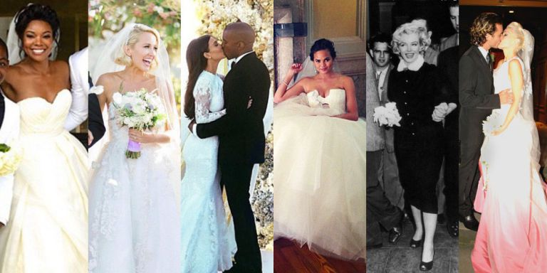 The 47 Best Celebrity Wedding Dresses Wedding Gown Ideas