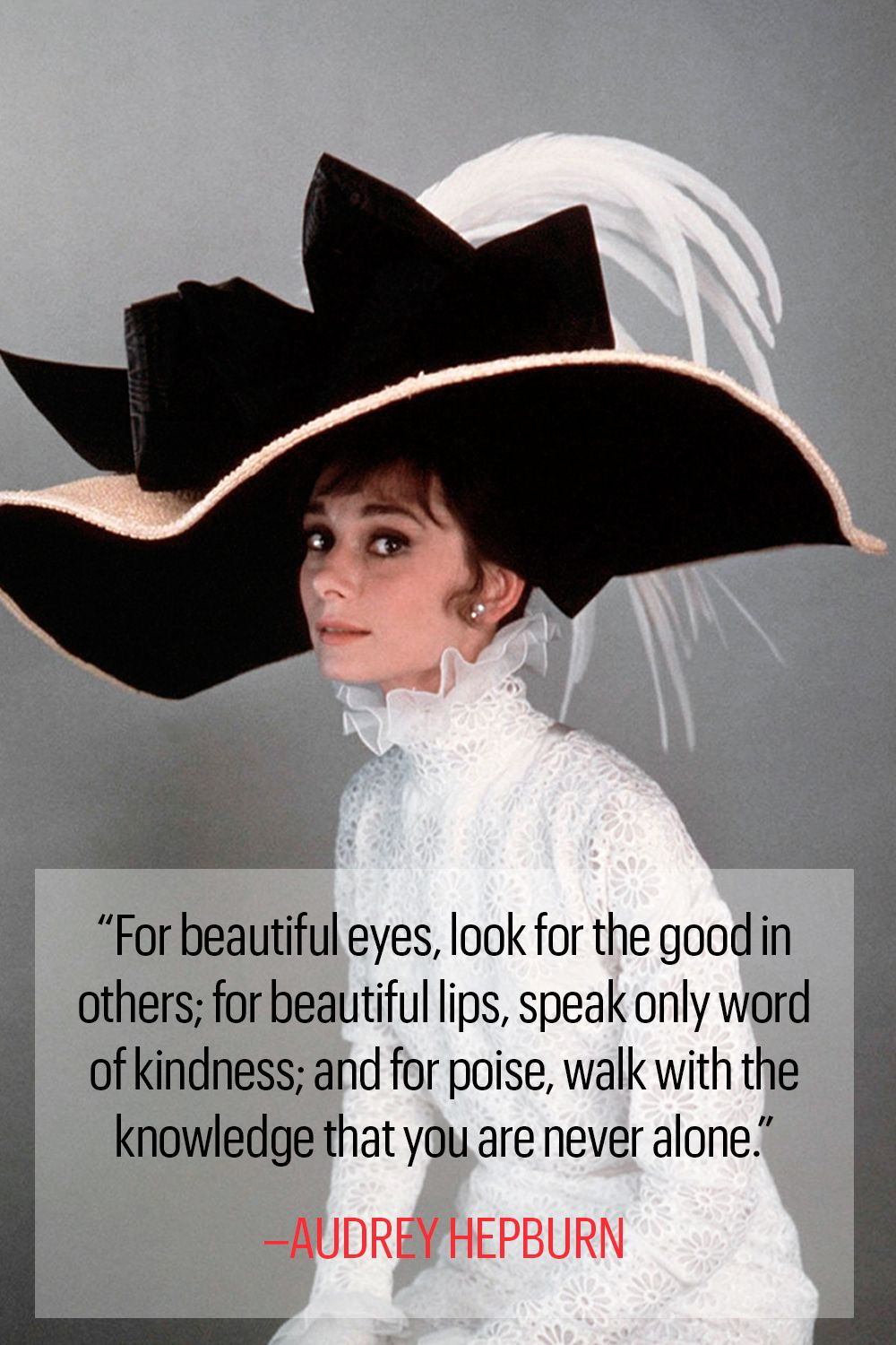 9060d03e7a47a 10 Classic Audrey Hepburn Quotes - Inspirational Words to Live By