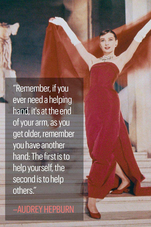 10 Classic Audrey Hepburn Quotes ...