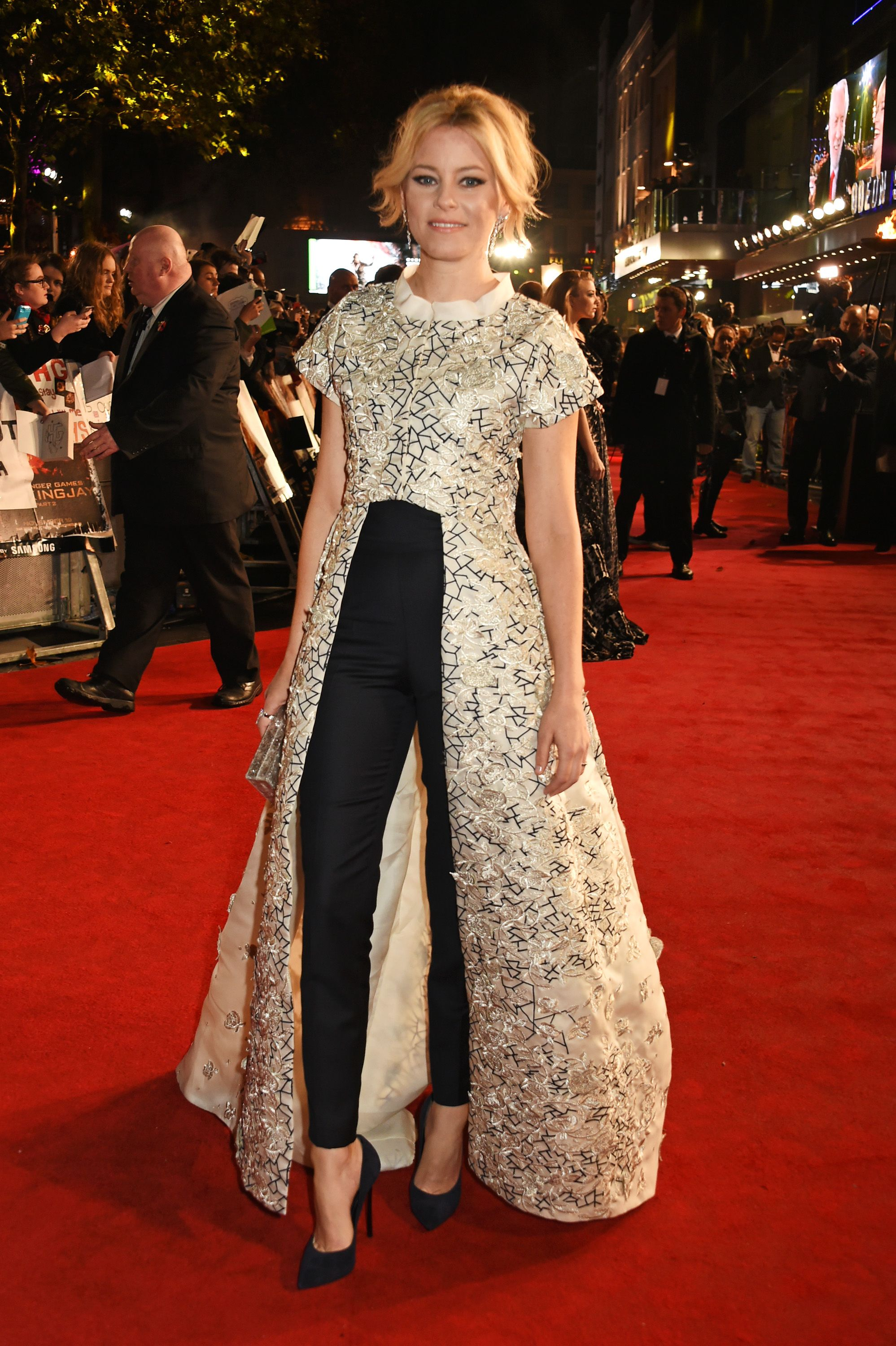 Celebrity Dress Over Pants Trend How To Wear Dresses Red Carpet