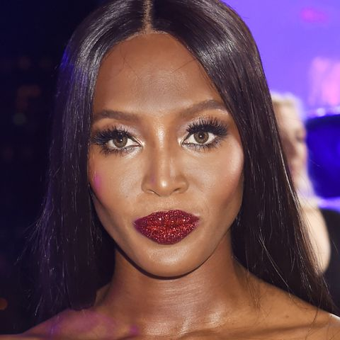 "<p>Since her majesty Pat McGrath unveiled her <a href=""http://www.marieclaire.com/beauty/news/a21939/pat-mcgrath-004-glitter-lip-kit/"" target=""_blank"">#LUST004 lip kits</a>—teaming creamy matte lip shades and&nbsp;micro-fine glitter together—sparkly lips have been seen *everywhere*—from the Versace runway to the VMAs red carpet (on Naomi Campbell no less). As conceptual as they are, they're relatively&nbsp;easy to achieve. Just paint on your red lip, apply a thin coat of gloss, and then press the glitter carefully on the lips. If you don't want to go full-pout with the sparkles, try the&nbsp;""crescendo of glitter"" McGrath applied at <a href=""http://www.marieclaire.com/fashion/news/a22635/shag-marry-kill-ss17/"" target=""_blank"">DKNY Spring 2017</a>.<span class=""redactor-invisible-space"" data-verified=""redactor"" data-redactor-tag=""span"" data-redactor-class=""redactor-invisible-space""></span></p>"