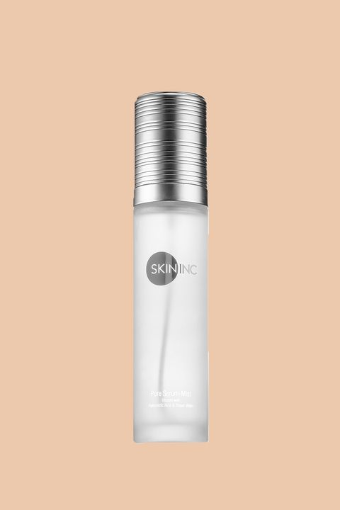 "<p>If your&nbsp;skin is in distress or sensitive by nature, this is the sprayable serum for you. Infused with ultra-lightweight hyaluronic acid and mineral-rich, anti-inflammatory Japanese hot spring Onsen water, it&nbsp;moisturizes and restores the skin's natural lipid barrier&nbsp;for the most easily obtained glow of your life.&nbsp;</p><p><br></p><p>Skin Inc. Pure Serum-Mist<span class=""redactor-invisible-space"" data-verified=""redactor"" data-redactor-tag=""span"" data-redactor-class=""redactor-invisible-space"">, $55;&nbsp;<a href=""http://bit.ly/2cSrKaf"" target=""_blank"">sephora.com</a>.</span><br></p>"