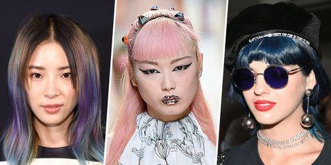 Eyewear, Lip, Hairstyle, Skin, Forehead, Eyelash, Eyebrow, Fashion accessory, Hair accessory, Sunglasses,