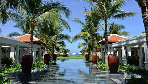 "<p><a href=""http://www.theanam.com/"">The Anam</a> resort in Cam Ranh, Vietnam, is a newly opened option that's just an hour flight from Saigon and an hour and a half from Hanoi. In addition to the private beach, there are three pools, three restaurants, and a shuttle to downtown Nha Trang city. It's luxury without being stuffy–butlers, valets, and concierge are there to help, while ""no shoes, no news, no stress"" is their #1 philosophy. Heaven.</p>"
