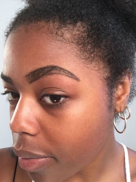 Microblading Eyebrow Tattoos I Got Semi Permanent Eyebrow Tattoos