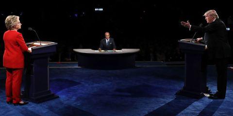 Public speaking, Stage equipment, Suit, Podium, Stage, Lectern, Spokesperson, Speech, Orator, Public address system,