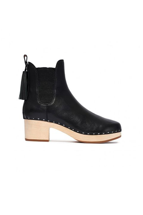 "<p>A clog you'll actually want to wear. </p><p>$425,&nbsp;<a href=""http://www.loefflerrandall.com/dillon-black.html"" target=""_blank"">loefflerrandall.com</a>&nbsp;</p>"