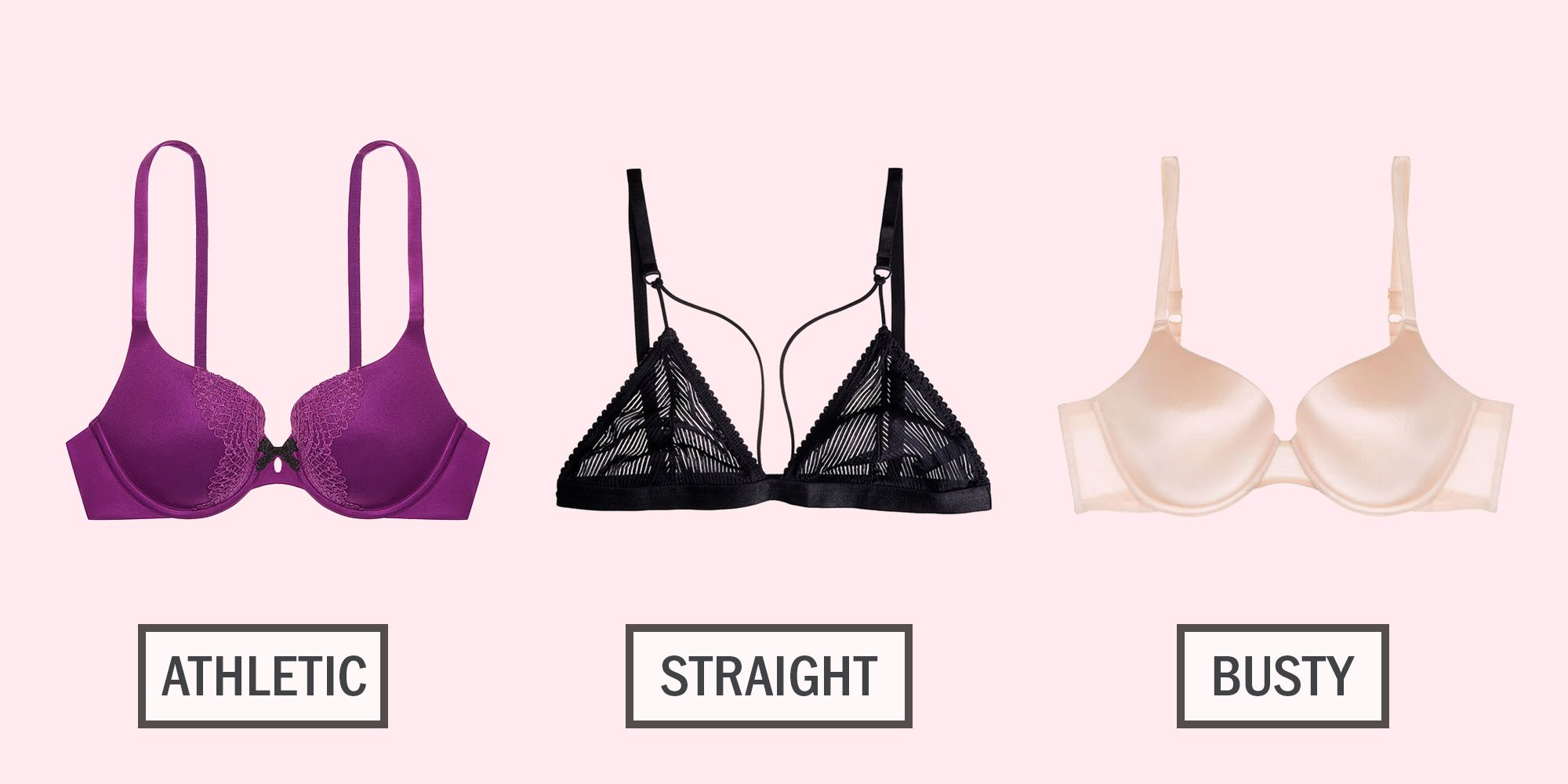 15 Best Bras for Every Body Type - How to Choose the Right