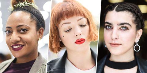 Lip, Hairstyle, Eye, Skin, Eyelash, Chin, Forehead, Eyebrow, Style, Beauty,