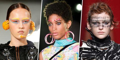 Hairstyle, Eyelash, Eyebrow, Style, Earrings, Iris, Fashion, Beauty, Eye shadow, Makeover,