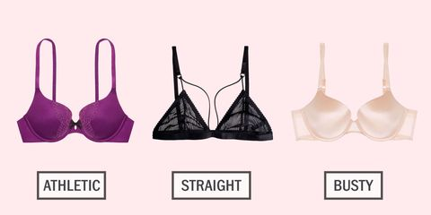 3bc215e748 15 Best Bras for Every Body Type - How to Choose the Right Bra for You