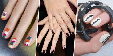 Finger, Skin, Nail, Hand, Nail care, Style, Nail polish, Thumb, Fashion, Black,