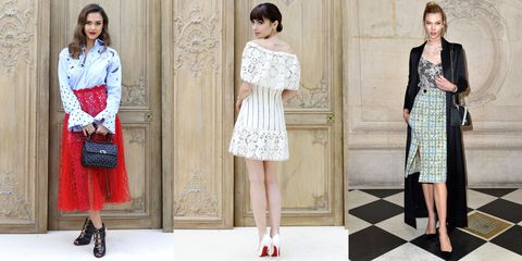 The Best-Dressed Celebrities at Paris Fashion Week