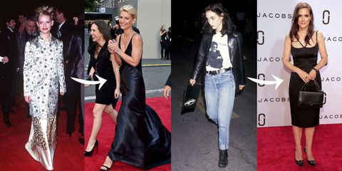 32 Must-See '90s-to-Now Celebrity Style Transformations