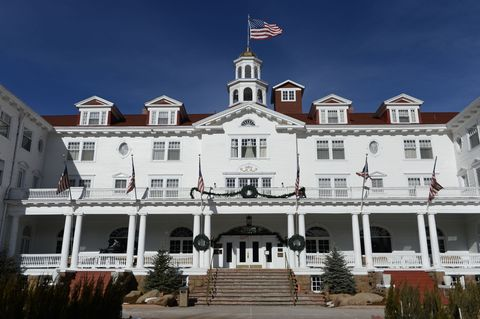 "<p>The Stanley Hotel in Estes Park, Colorado is the very spot that inspired Stephen King to write <em data-redactor-tag=""em"" data-verified=""redactor"">The Shining</em>, so, you know, it's definitely spooky. The hotel has been reporting paranormal activity since the 1970s, with many believing the original owners roam the halls, sometimes even playing the piano. The resort now features a ghost tour. </p>"