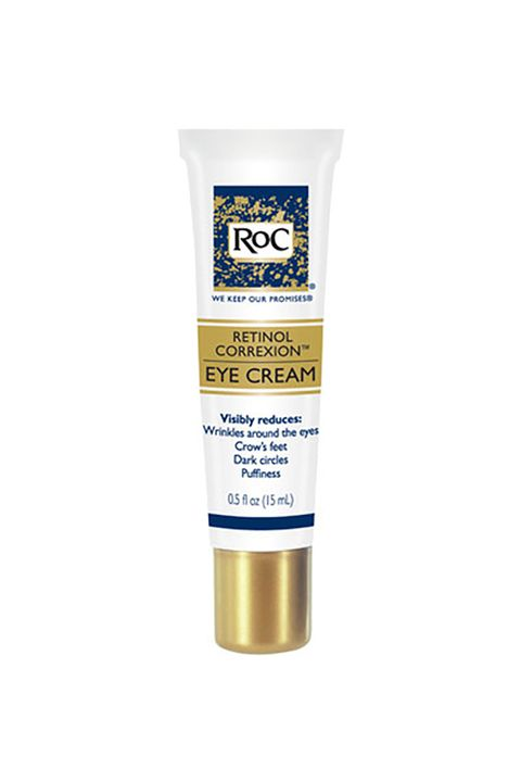 "<p>The formula? Top&nbsp;notch—fighting crow's feet, dark circles, and puffiness. The packaging? Even better—the hard/non-puncturable&nbsp;exterior is perfect for throwing in a bag, throwing in a bin...you get the gist.&nbsp;</p><p>ROC Eye Cream, $25; <a href=""http://www.ulta.com/eye-cream?productId=prod2112112"" target=""_blank"">Ulta.com</a></p>"
