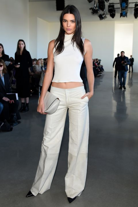 Leg, Brown, Trousers, Human body, Shoulder, Joint, Outerwear, Waist, Fashion show, Style,