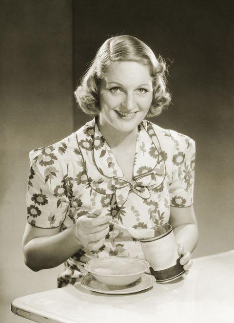 1930s diet advice