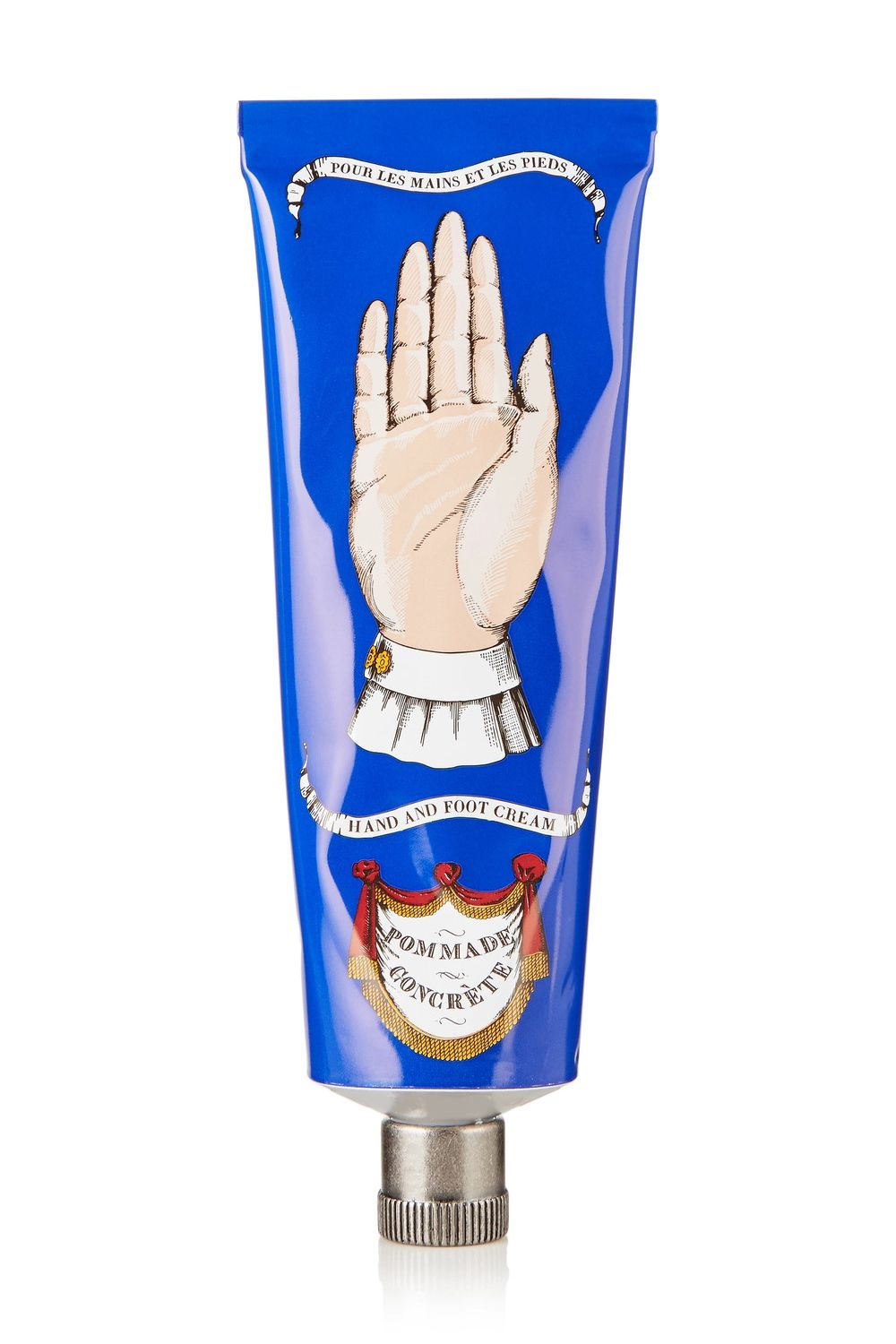 "<p>The bougiest hand cream from the world's fanciest, most fantastical beauty emporium. </p><p>$50, <a href=""https://www.net-a-porter.com/us/en/product/831397/buly_1803/pommade-concrete-balm--75ml"" target=""_blank"" data-tracking-id=""recirc-text-link"">net-a-porter.com</a>.</p>"